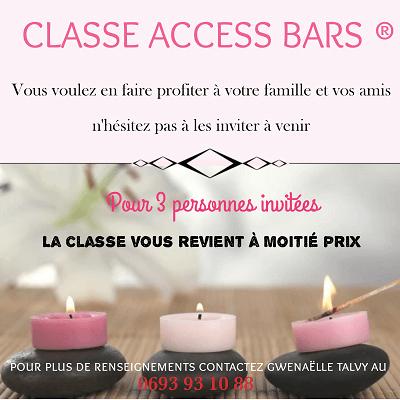Classe Access Bars premiers samedis